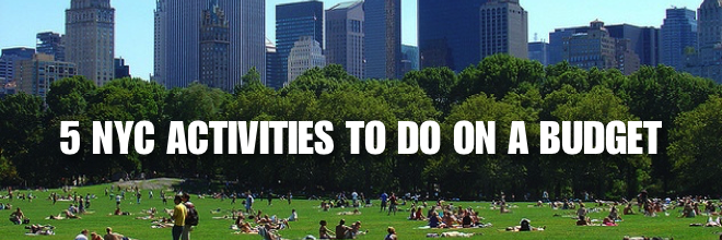 5 Things to do on a Budget in New York City