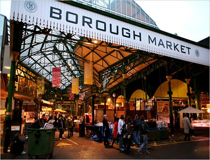 The Borough Market, London