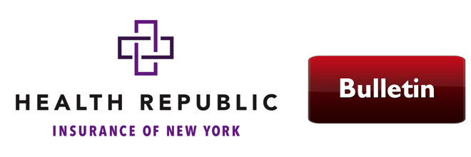 URGENT: Health Republic Ins. of NY Shutting Down