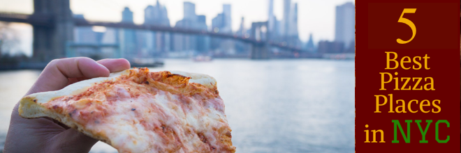 5 Top Slices & Best White Pie in NYC