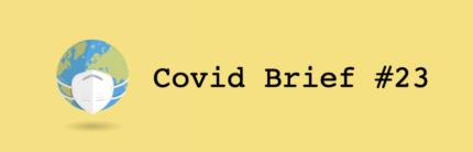 Covid Briefing #21