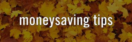 Autumn Money Saving Tips